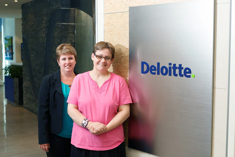 Commercial photography at Deloitte in Calgary